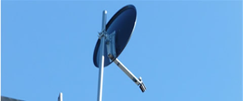 We can fit your Satellite Dish